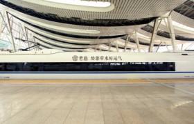 今年春节,把好运带回家——老庙·好运高铁专列2019春运始发