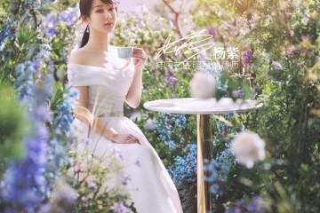名门泽佳杨紫总算逆袭成颜霸一袭白纱裙作用美若人世精灵手捧鲜花太鲜艳