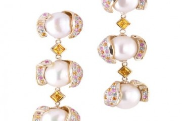 Paloma Sanchez高级艺术珠宝发布珍珠纹理系列